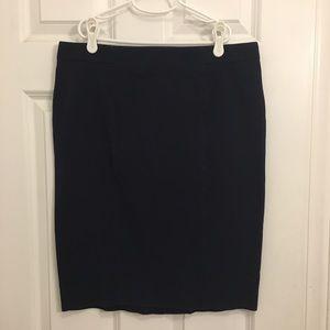 Gap Navy Blue Pencil Skirt